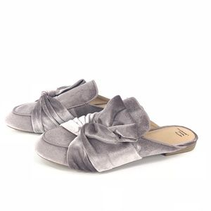 A New Day Holland velvet mules NWT